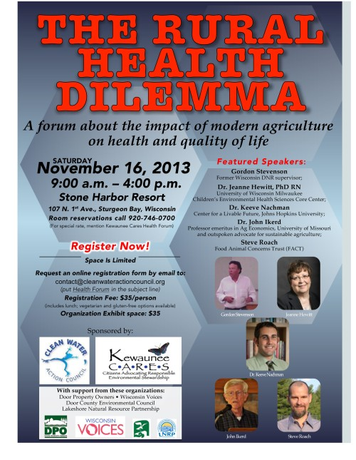 Microsoft Word - Health Forum Flyer 4OCT13.docx