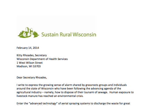 Sustain Rural Wisconsin screen shot