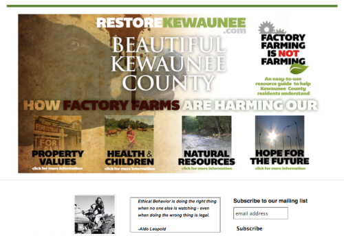RestoreKewaunee screen shot